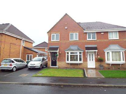 3 Bedrooms Semi Detached House for sale in Edenbridge Drive, Stoneclough, Manchester, Greater Manchester