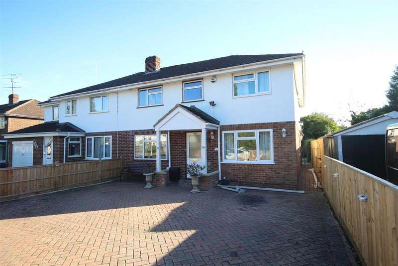 5 Bedrooms Semi Detached House for sale in Stanton Close, Earley, Reading