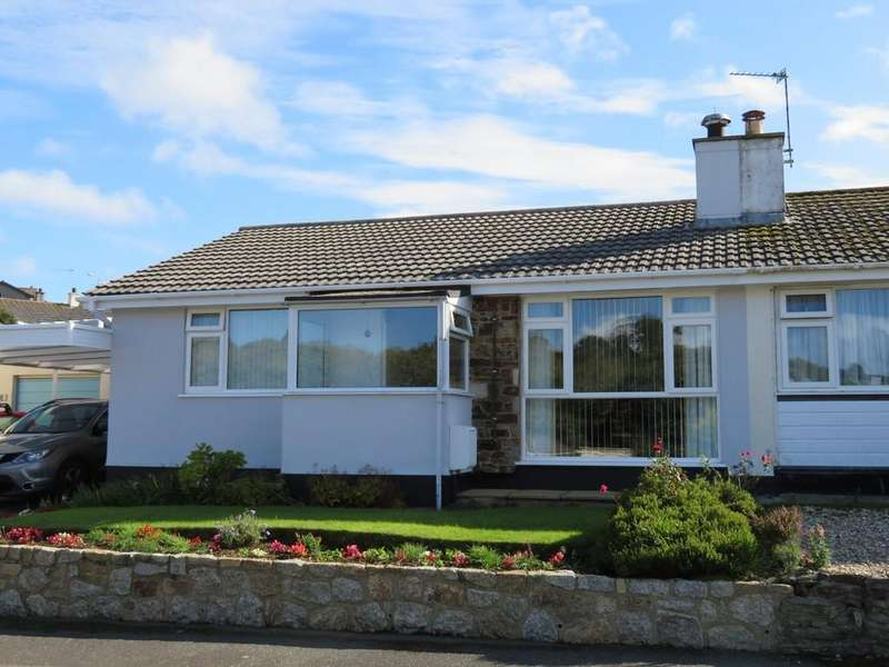 3 Bedrooms Semi Detached Bungalow for sale in Reens Crescent, Heamoor, Penzance