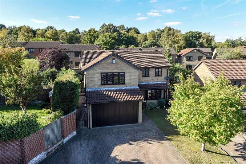 4 Bedrooms Detached House for sale in Tiffany Close, Wokingham, Berkshire RG41 3BN