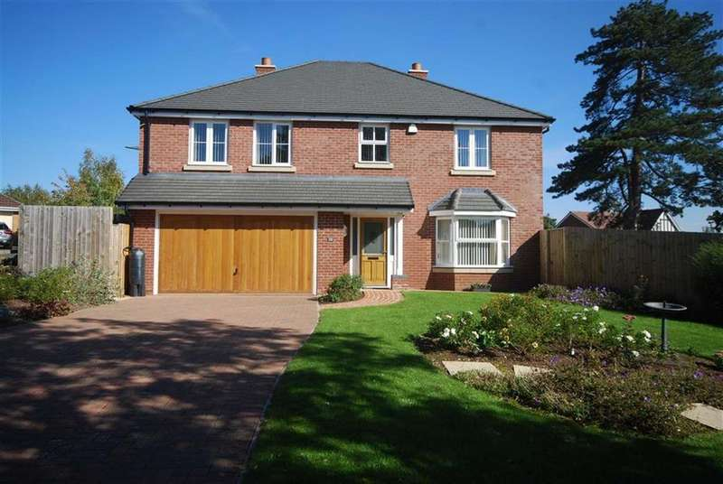 4 Bedrooms Detached House for sale in Belgravia Gardens, Hereford, Herefordshire