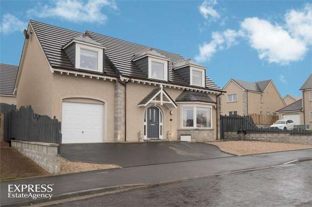 4 Bedrooms Detached House for sale in Corsmanhill Avenue, Inverurie, Aberdeenshire
