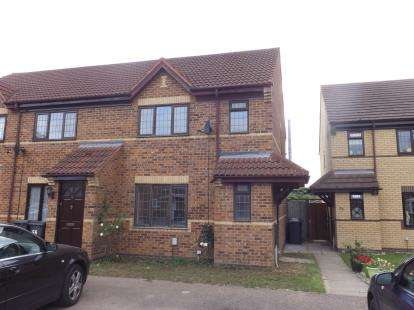 3 Bedrooms Semi Detached House for sale in The Paddocks, Flitwick, Bedford, Bedfordshire