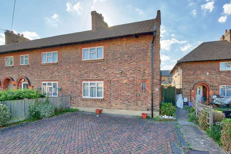 3 Bedrooms End Of Terrace House for sale in Bakers End, Wimbledon Chase, SW20 9ER