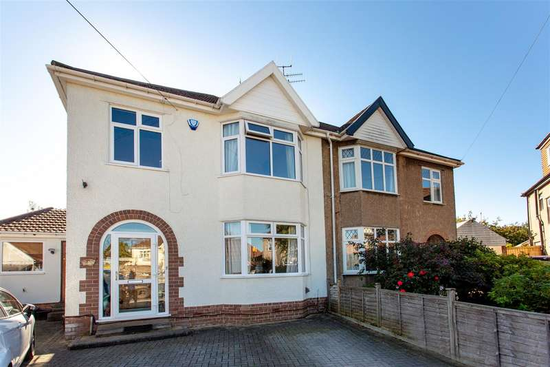 4 Bedrooms Semi Detached House for sale in West Croft, Henleaze