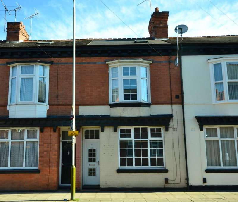 4 Bedrooms Terraced House for sale in Beckingham Road , Leicester