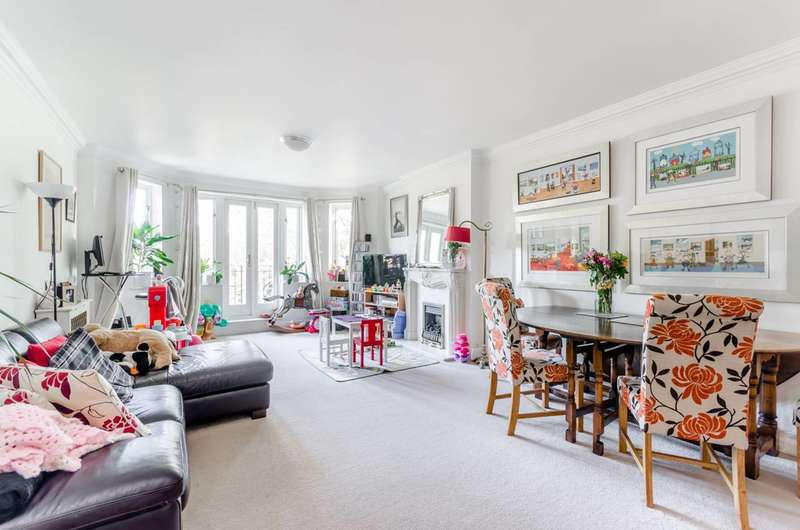 2 Bedrooms Flat for sale in Wimbledon Hill Road, Wimbledon Village, SW19