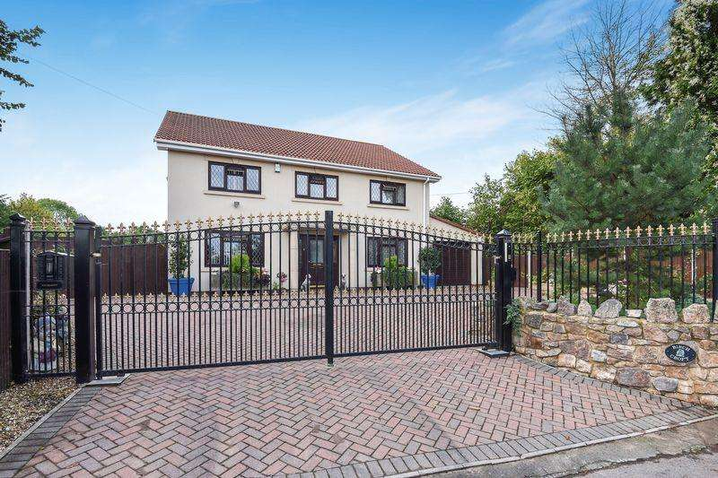 5 Bedrooms Detached House for sale in Station Road, Sandford