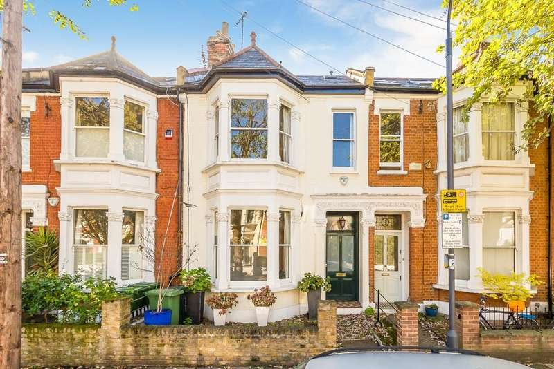 4 Bedrooms Terraced House for sale in Hebron Road, Brackenbury, London, W6