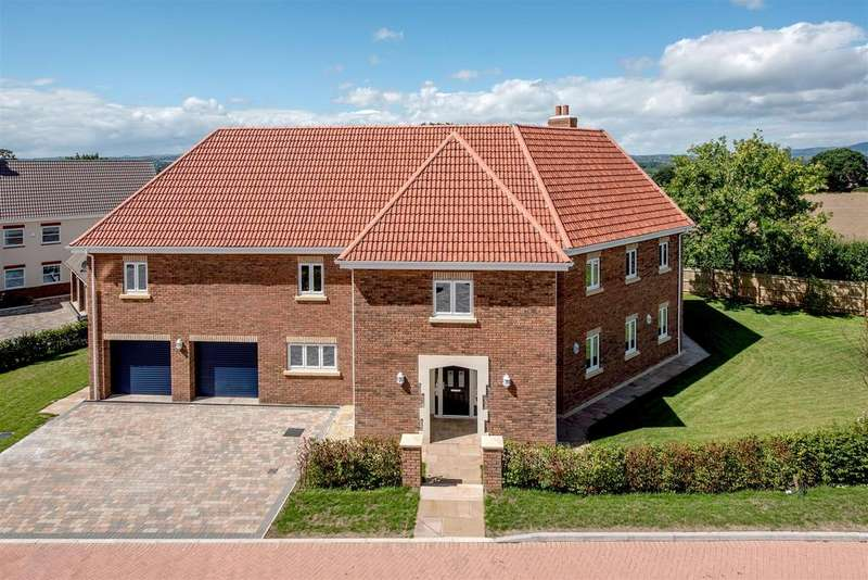 5 Bedrooms Detached House for sale in Sherlands Heights, Taunton