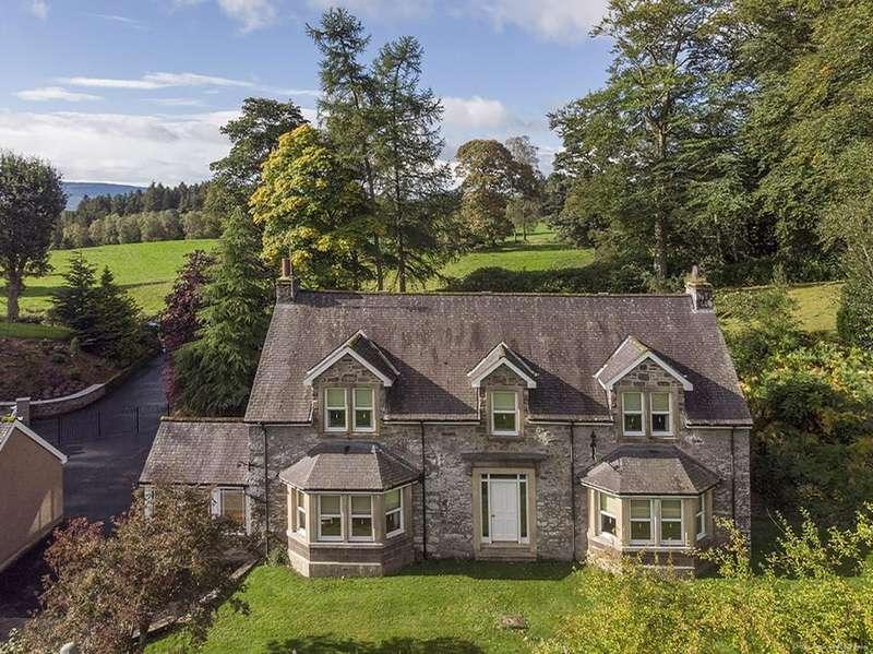 4 Bedrooms Detached House for sale in Lerrocks Road, Argaty, Near Doune/Dunblane, FK16 6EJ