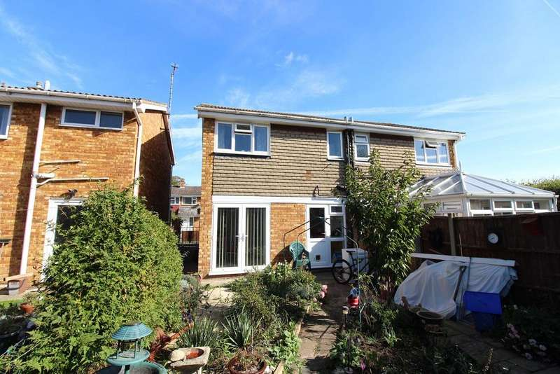 3 Bedrooms Semi Detached House for sale in Rookery Walk, Clifton, SG17