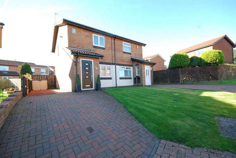 2 Bedrooms Semi Detached House for sale in Alderley Close, Boldon Colliery