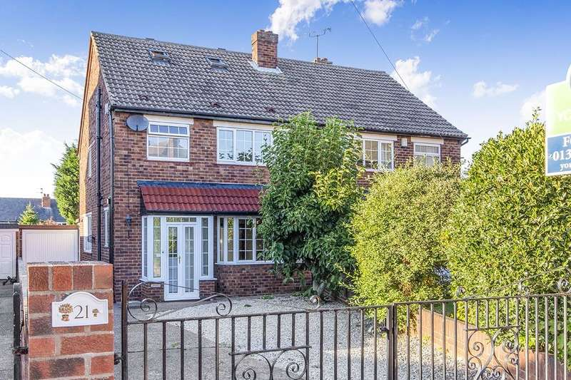 4 Bedrooms Semi Detached House for sale in Crossways North, Doncaster, DN2