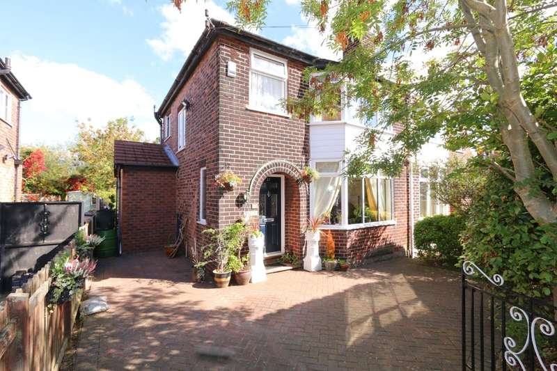 3 Bedrooms Semi Detached House for sale in Hassop Road, Stockport, SK5