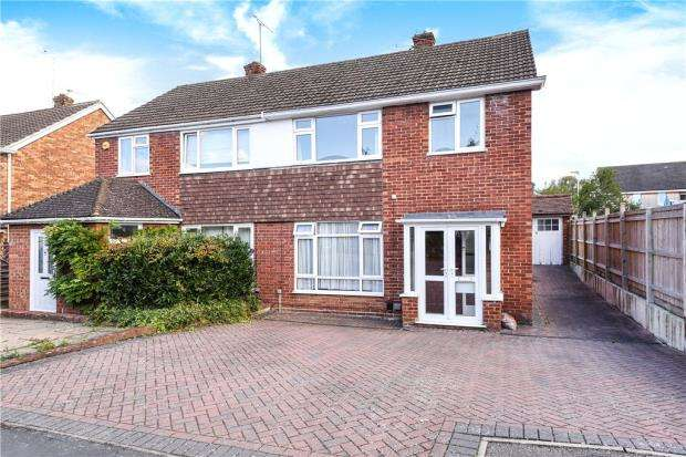 3 Bedrooms Semi Detached House for sale in Priors Road, Windsor, Berkshire