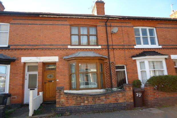 3 Bedrooms Terraced House for sale in Dulverton Road, Western Park, Leicester, LE3