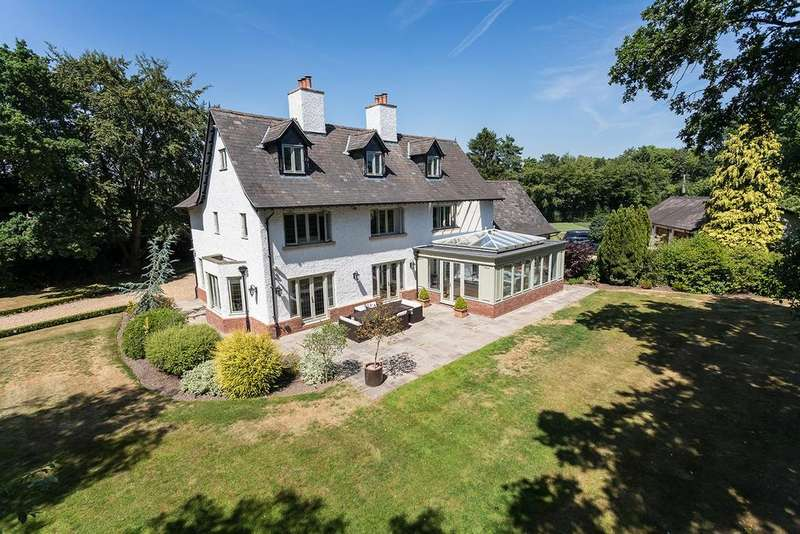 5 Bedrooms Detached House for sale in Crown Lane, Lower Peover