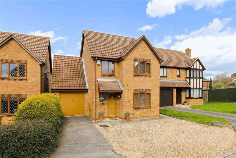 4 Bedrooms Detached House for sale in Chancery Close, Bradville, Milton Keynes, Bucks
