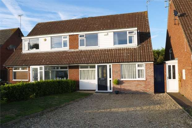 4 Bedrooms Semi Detached House for sale in Willow Crescent, Market Harborough, Leicestershire