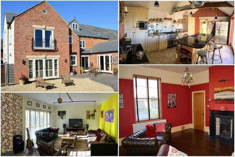 5 Bedrooms Detached House for sale in The Square, Frolesworth, Offers Over, Leicestershire