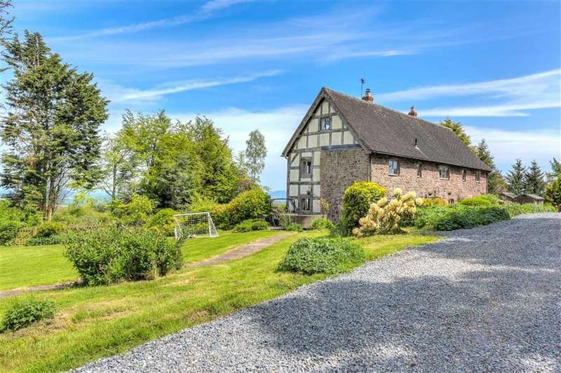 6 Bedrooms Detached House for sale in Underhill House, Pulverbatch, Shrewsbury, SY5