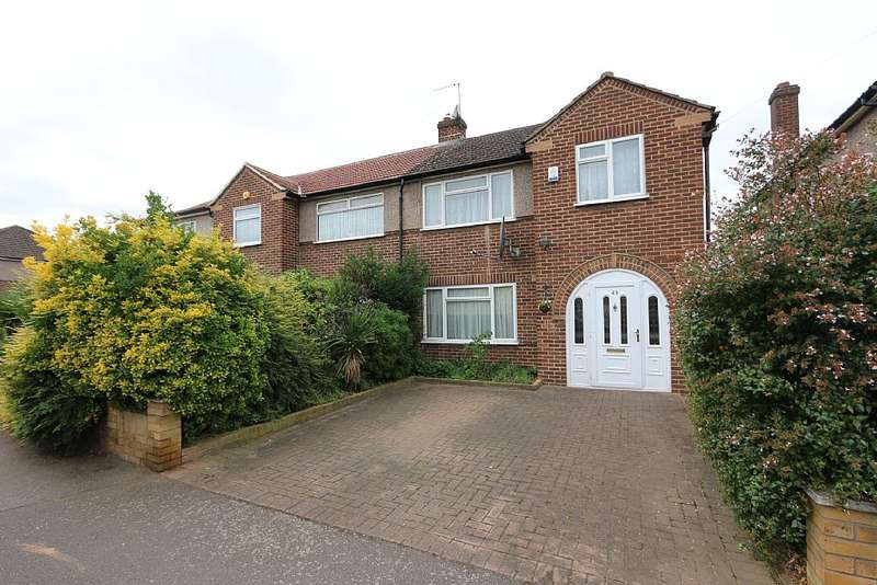 3 Bedrooms Semi Detached House for sale in Central Avenue, Waltham Cross, Hertfordshire, EN8