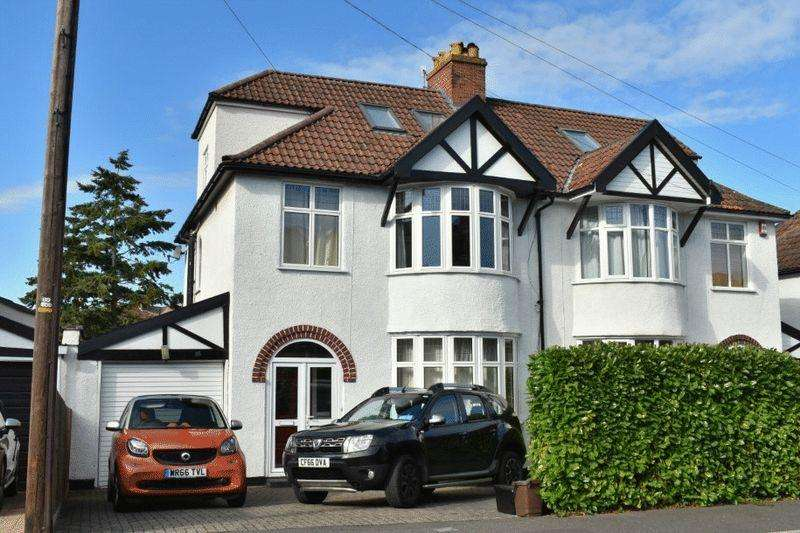 4 Bedrooms Semi Detached House for sale in Cooper Road, Westbury-on-Trym