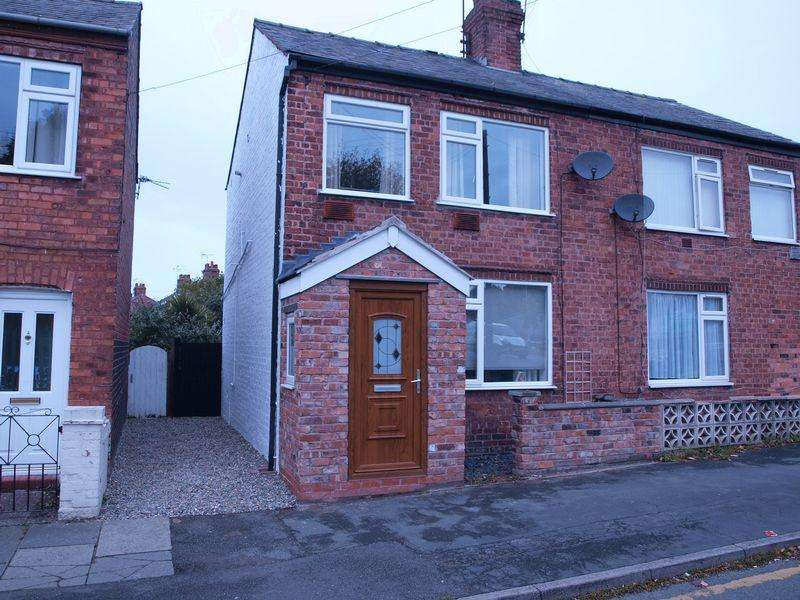 3 Bedrooms Semi Detached House for sale in Percy Street, Northwich, CW9 5QG