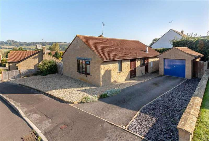 2 Bedrooms Detached House for sale in Rickhay Rise, West Chinnock, Crewkerne, Somerset, TA18