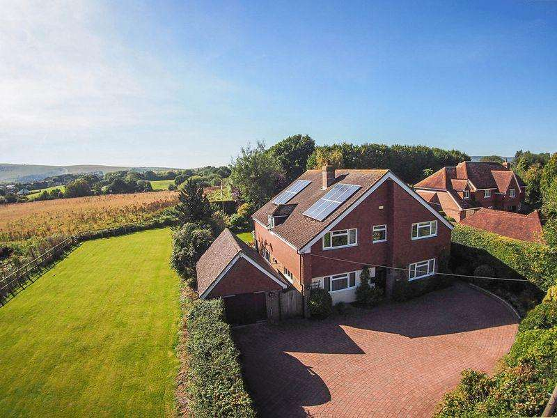 4 Bedrooms Detached House for sale in New Hall Lane, Small Dole Nr Henfield