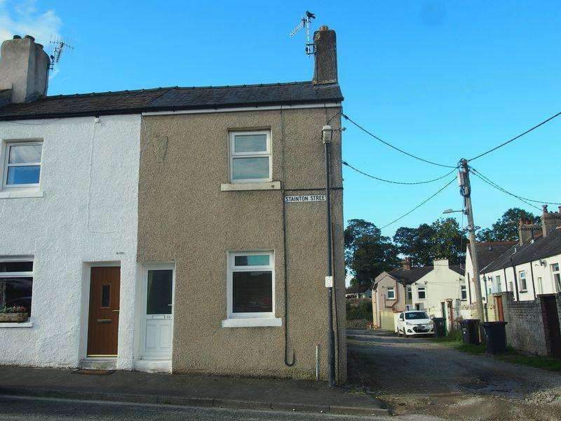 2 Bedrooms End Of Terrace House for sale in Stainton Street, Carnforth