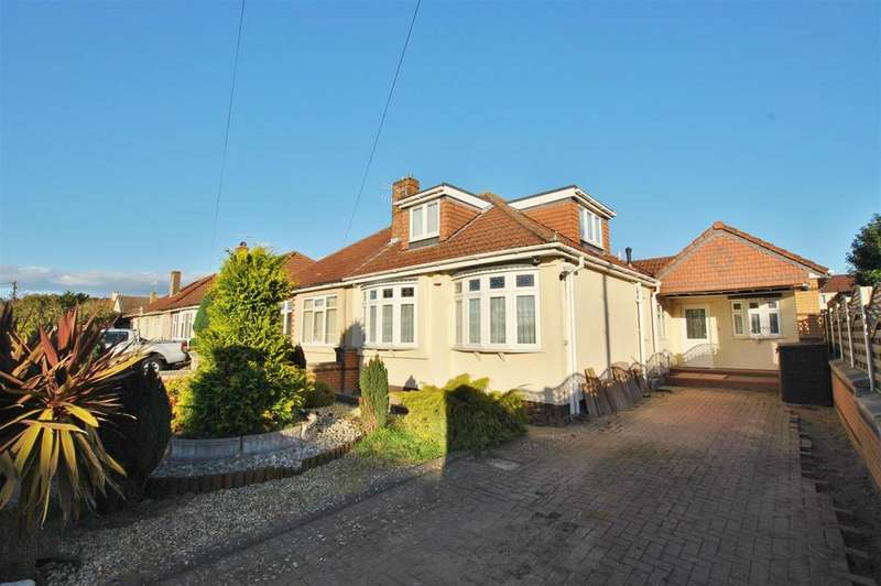 3 Bedrooms Semi Detached Bungalow for sale in Kylross Avenue, Whitchurch, Bristol