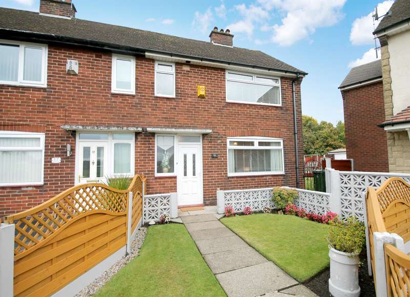 2 Bedrooms End Of Terrace House for sale in Cherry Tree Avenue, Farnworth, Bolton, BL4 9SB