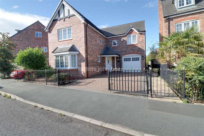 4 Bedrooms Detached House for sale in Radcliffe Road, Winsford