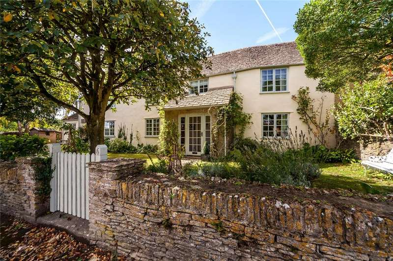 4 Bedrooms Semi Detached House for sale in The Street, Shipton Moyne, Tetbury, Gloucestershire, GL8