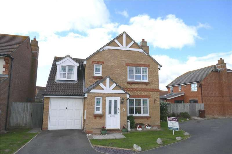 4 Bedrooms Detached House for sale in Barrier Reef Way, Eastbourne, East Sussex, BN23