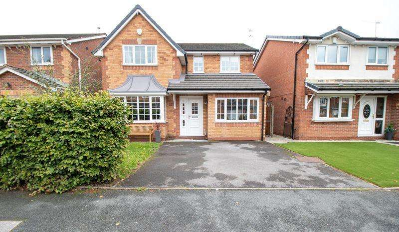 4 Bedrooms Detached House for sale in Clough Fold, Stoneclough, Manchester, M26 1GZ