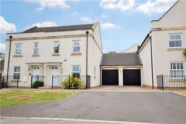 3 Bedrooms Semi Detached House for sale in Oak Leaze, Patchway, Bristol, BS34 5AW