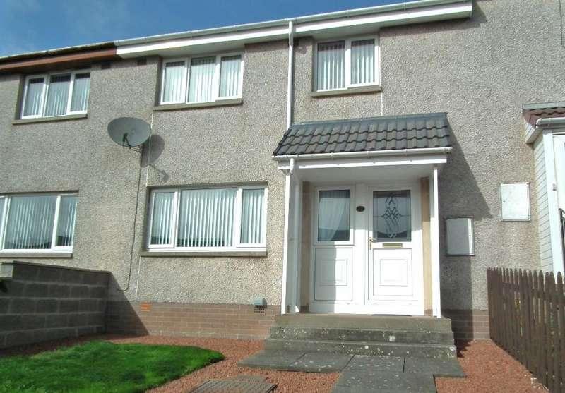 3 Bedrooms Terraced House for sale in 42 Erskine Road, Chirnside TD11 3YD