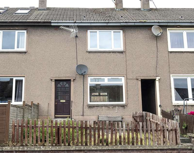 2 Bedrooms Terraced House for sale in 10, Queensway, Earlston TD4 6EY