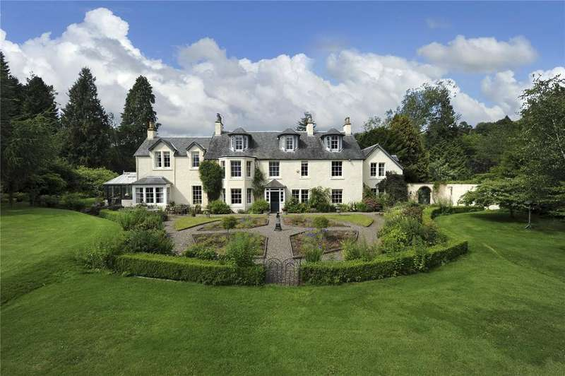 Country House Character Property for sale in Yetts O' Muckhart, Kinross-Shire
