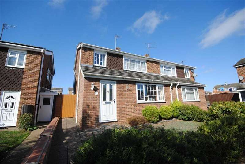 3 Bedrooms Semi Detached House for sale in Kiteleys Green, Leighton Buzzard