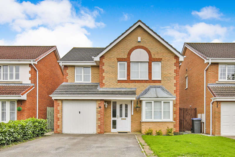 4 Bedrooms Detached House for sale in Romaldkirk Close, Consett, DH8