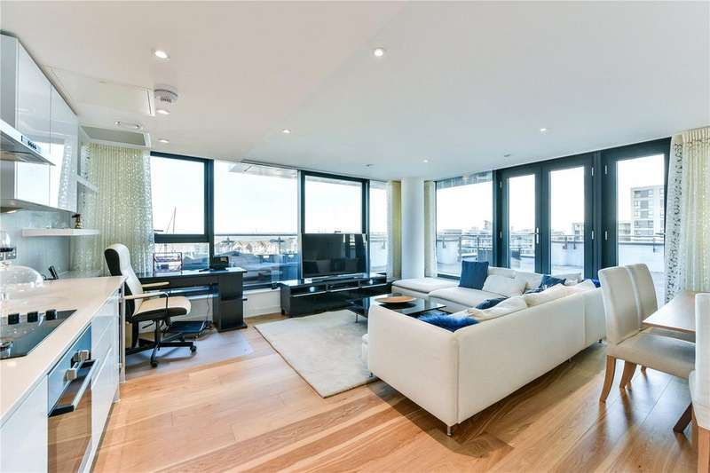 2 Bedrooms Flat for sale in The Blake Building, Admirals Quay, Ocean Way, Southampton, SO14