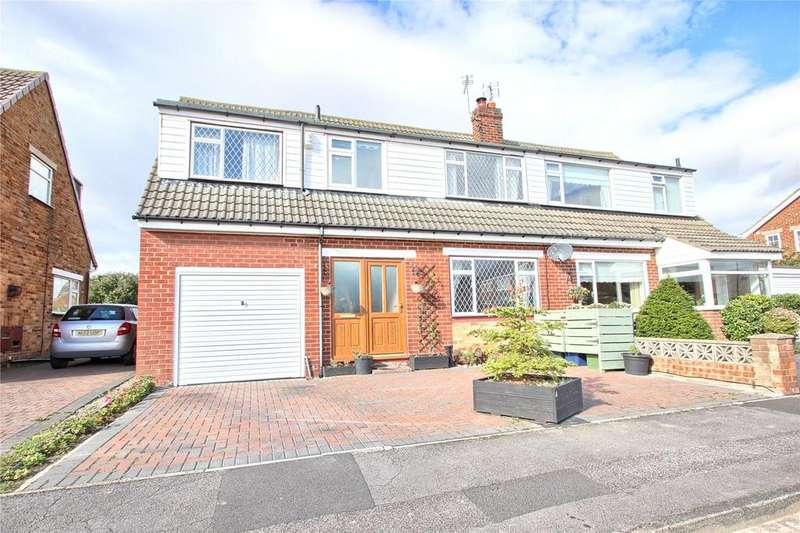 4 Bedrooms Semi Detached House for sale in Spencer Close, Marske