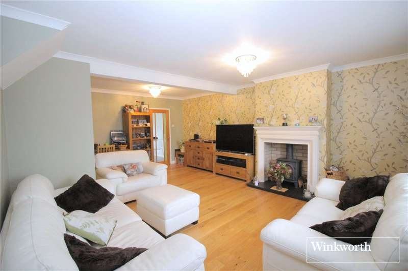 3 Bedrooms Semi Detached House for sale in Northfield Road, Borehamwood, Hertfordshire, WD6