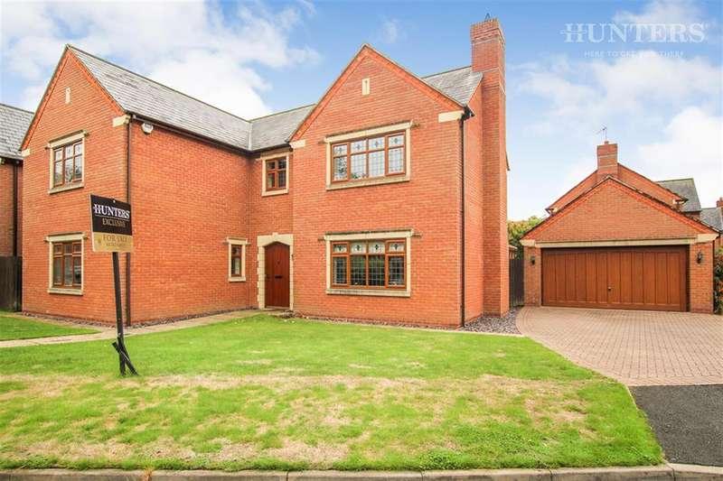 5 Bedrooms Detached House for sale in Chestnut Walk, Cheddleton, ST13 7BJ