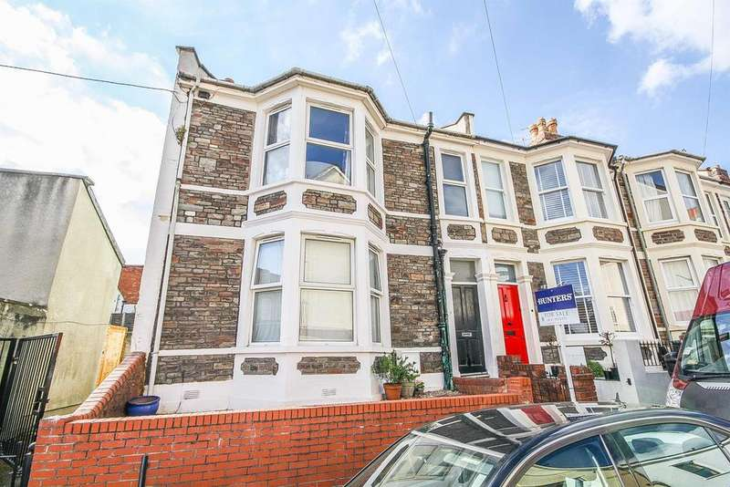 3 Bedrooms End Of Terrace House for sale in Merrywood Road, Southville, Bristol, BS3 1DY