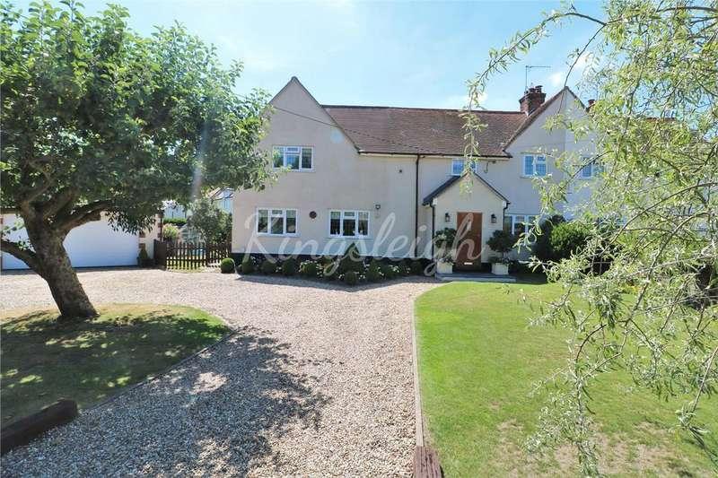4 Bedrooms Semi Detached House for sale in Bargate Lane Cottages, Bargate Lane, Dedham, Colchester, CO7